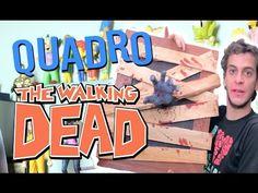 QUADRO DE THE WALKING DEAD - Victor Lamoglia - YouTube
