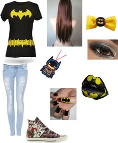 """super hero party (Alexis)"" by emmtommo ❤ liked on Polyvore"