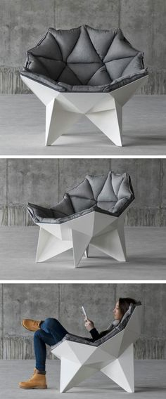 €933 --> Q1 Lounge Chair by ODESD2