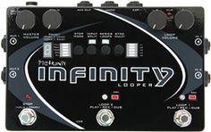 The Pigtronix Infinity might be the best loop pedal for live bands. It has clever signal routing, sample-accurate MIDI sync, two stereo tracks, and more. The Rock Dwayne Johnson, Rock Johnson, Dwayne The Rock, Guitar Effects Pedals, Guitar Pedals, Analog Synth, Music Software, Chicago Shopping, Pedalboard
