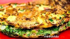 Omelete verde: experimente essa receita de omelete fácil e saudável