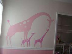 cute mural or canvas art project idea