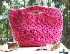 Material Barbante EuroRoma 4/6 Agulha para crochê 3,5 mm.     A receita de hoje é para quem adora seguir as tendências da moda, afinal 2015 é o ano das peças artesanais, seja para decoração, vestuário ou aqueles acessórios que fazem toda a diferença