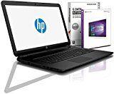 HP (15,6 Zoll) Notebook (AMD A6-6310 Quad Core 4x2.40 GHz, 16GB RAM, 256GB SSD, AMD Radeon R4, HDMI, Webcam, Bluetooth, USB 3.0, WLAN, Windows 10 Professional 64 Bit) #5043
