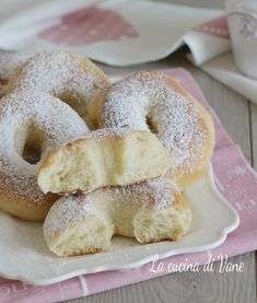 Baby Food Recipes, Sweet Recipes, Cake Recipes, Italian Pastries, Sweet Cakes, Creative Food, I Love Food, Cooking Time, Bakery