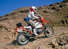 Gaston Rahier - Paris Dakar 1985
