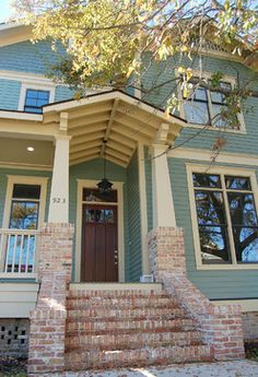 Like These Brick Craftsman Columns Front Porch Column