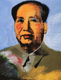 Andy Warhol. Mao, 1973. Synthetic polymer paint and silkscreen ink on canvas.