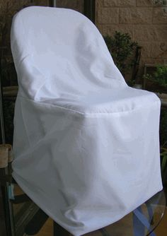 White Folding Chair Covers $4.99 each - discounted with quantities