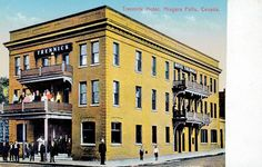 After the Columbia Hotel was torn down, the Trennick Hotel opened in June of 1910.  This hotel was later known as the Metropole, the Mohawk Hotel and from 1967, the Lord Nelson Hotel. This building is still standing today and is now known as Hotel Europa.Canada 150: Niagara Falls Then and Now. Niagara Falls Public Library.