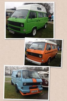 VW T25s at Volksworld 2013 by VDub Camper Girl