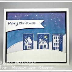 Della (@ibrakeforstamps) • Instagram photos and videos Christmas Home, Merry Christmas, Happy Saturday, I Card, Stamps, Personalized Items, Feelings, Handmade, Inspiration