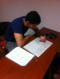 Practicing TOEFL ITP exercises at www.awesomenglish.com