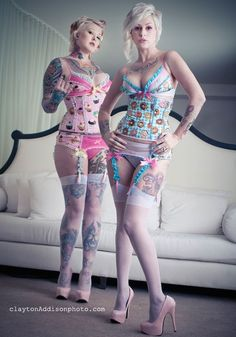 donuts and lingerie = two of my favorite things ever. by PurrfectPineapples on Etsy