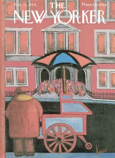 Robert Kraus : Cover art for The New Yorker 2075 - 21 November 1964