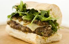 Cheese burger with caramelised onions - Marcus Wareing