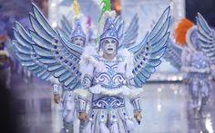 Comissão de frente da Águia de Ouro faz coreografia de Robson Bernardino