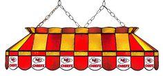"Kansas City Chiefs 40"" Glass Lamp"
