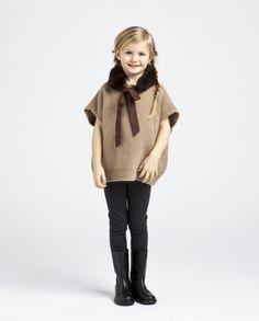 Lanvin children's wear fall / winter 2012 -- Classic French designer chic for kids.