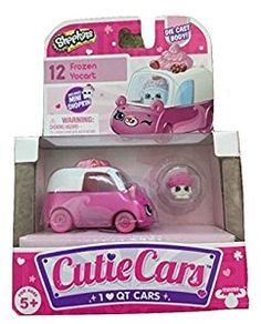 Cutie Cars Shopkins S1 3pk Freezy Riders Catie Girls
