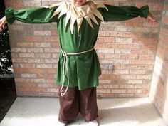 Scarecrow costume and hat sizes 2t8 by SoLilly on Etsy, $39.99