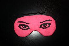 b4d29a9eaca86 Items similar to Pink (EYE) Eye Mask 25% Off on Etsy