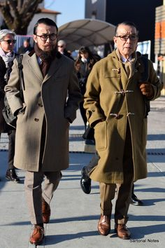 Classic Style from Pitti Uomo 91 in Florence -