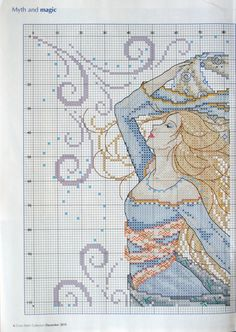 Gallery.ru / Photo # 3 - Cross Stitch Collection 191 December 2010 - tymannost