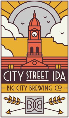 Big City Brewing Company is a South African craft beer producer based in Cape Town.  We worked with them in creating their logo and designing two beer labels, an IPA and Low Carbohydrate brew.