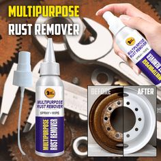Rust Remover Spray - Healty fitness home cleaning Remove Rust From Metal, How To Remove Rust, House Cleaning Tips, Cleaning Hacks, Vie Simple, Cleaning Painted Walls, Clean Dishwasher, Toilet Cleaning, Useful Life Hacks