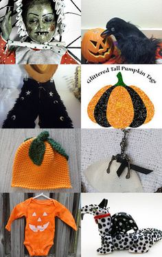 Get ready for HALLOWEEN... by Bianca BsCozyCottageCrafts, LLC on Etsy--Pinned with TreasuryPin.com