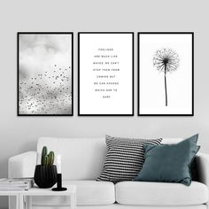 , Feelings Are Like Waves Inspirational Quotes Black and White Canvas Wall Art For. , Feelings Are Like Waves Inspirational Quotes Black and White Canvas Wall Art For Meditation Yoga Room Bedroom Living Room Modern Home Decor.