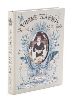 The Vintage Tea Party Book - Compiled by vintage boutique owner and bespoke party planner Angel Adoree, this hardcover reference features all of her favorite dishes, decorations, and delightful anecdotes, served with a dash of proper English charm. In addition to dreamy recipes for breakfasts, brunching, afternoon luncheons, and late-evening fêtes, this hardback guide invites you to complete the fanciful, festive experience with the perfect invitation and charming crafts.
