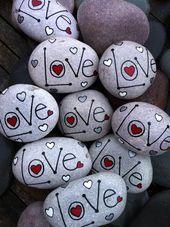 Rock Kunst - Rock Kunst - Painting Tips Rock Painting Patterns, Rock Painting Ideas Easy, Rock Painting Designs, Paint Designs, Stone Crafts, Rock Crafts, Fun Crafts, Crafts For Kids, Arts And Crafts