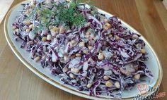 SUROVINY 1/2 hlávky červené zelí 1/2 šálku olivový olej 1 šálek kukuřice 6 ks kyselé okurky 2 šálky Cabbage, Vegetables, Health, Food, Lifestyle, Diet, Food Recipes, Salud, Meal