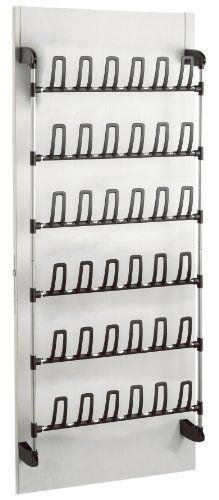Shoe Rack Behind Door Storage Garage Hanging Boot Ikea Racks Closet Shelves