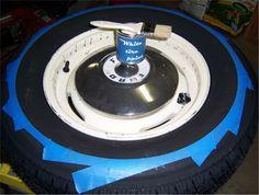 white wall tyres demo on hamb