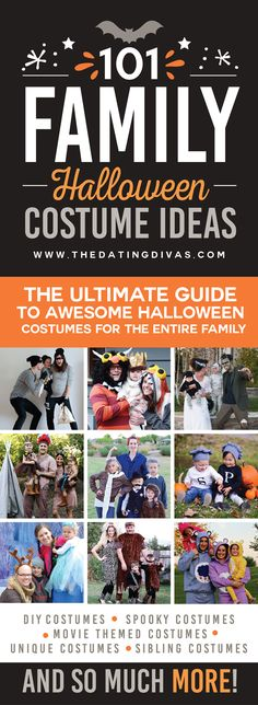 101 Family Halloween Costume Ideas