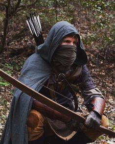 Male ranger LRP / RPG costume inspiration Archer character Probably totally anachronistic, but outlaws Fantasy Inspiration, Story Inspiration, Writing Inspiration, Character Inspiration, Larp, Armadura Medieval, Costume Roi, Rangers Apprentice, Steampunk