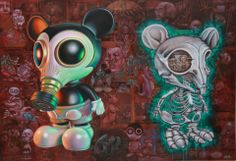 """Why I Paint Mickey Mouse"" - Ron English"