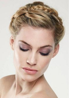 cute braided hairstyle 2013