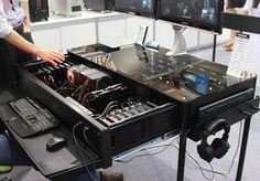 Instead of finding space to put a PC under your desk, why not make the table your PC?