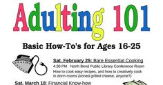 Because nobody taught you how to do your taxes.  - public library is offering 'Adulting 101' classes for Millennials