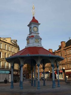 Bridgeton Cross 'Umbrella', Glasgow - a memorial to Robert Burns