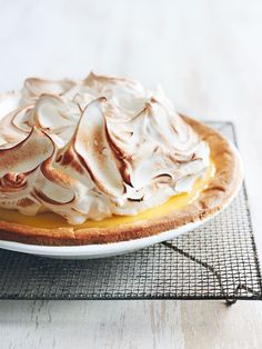 Lemon Meringue Pie  Donna Hay https://www.donnahay.com.au/recipes/desserts-and-baking/P150/lemon-meringue-pie