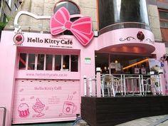 Hello Kitty Cafe in Seoul, South Korea.