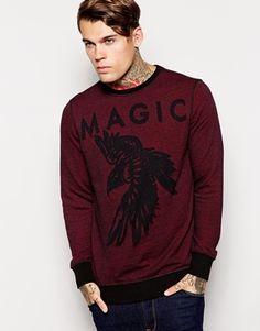 Diesel Sweatshirt S-Ram Magic Burnout