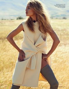 visual optimism; fashion editorials, shows, campaigns & more!: pure iconic: doutzen kroes by paul bellaart for vogue netherlands september 2013