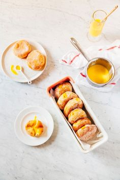 passionfruit curd donuts - hummingbird high | a desserts and baking blog