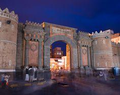 Bab al Yemen, Ga te to the Old City of Sana'a,Yemen Don Whitebread, photographer